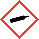 Pictogram for Gas Under Pressure