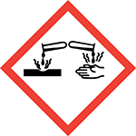 Pictogram for Corrosive